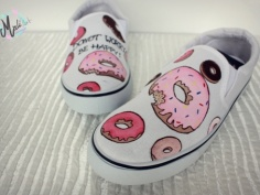 Mali Art Buty Donut Worry